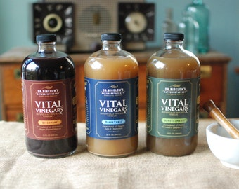 Vital Vinegars 32 oz. | Botanically Infused Vinegar