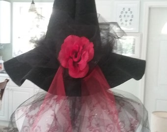 Adult witch hat to wear, Witch hat for adults, Witch hat, Halloween costume hat, Witch hats, Felt witch hat, Adults witch hats, Felt hats