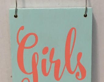 Ready To Ship - Girls Just Want To Have Sun Sign, wood, beach, decor,