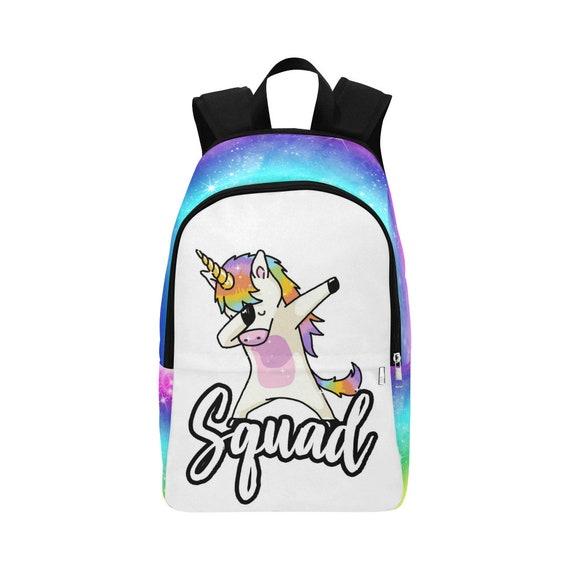 Dabbing Unicorn Backpack