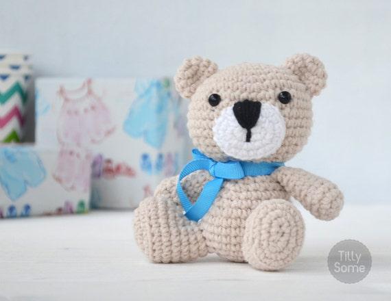 Teddy Bear Pattern Amigurumi Crochet Toy | PDF Pattern Crochet Soft ...