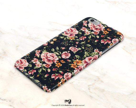 iPhone 7 Plus Case Floral iPhone 7 Case Floral iPhone 6 Case Vintage iPhone 5s Case Samsung Galaxy S7 Edge Case Samsung Galaxy S7 Case