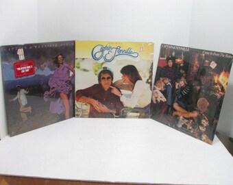 3 Captain & Tennille Vinyl LP Records, All Sealed NOS Albums, Pop Rock