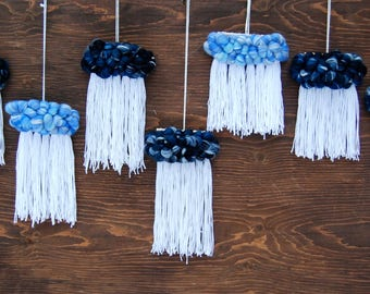 Woven Cloud Hangings