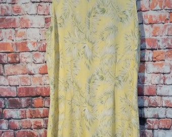 90's Exofficio  Dress, Women;s Size 8 . yellow Women''s dress
