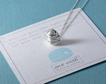 Hamburger Silver Necklace, Burger Sterling Silver Necklace, Fast Food Lover Necklace, Hamburger Jewellery, Burger Jewelry, Foodie Gift, Love