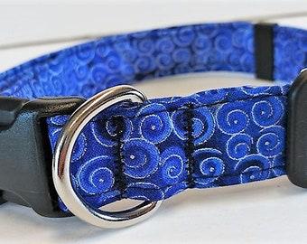 Blue Swirl Collar by Doodlebug Duds
