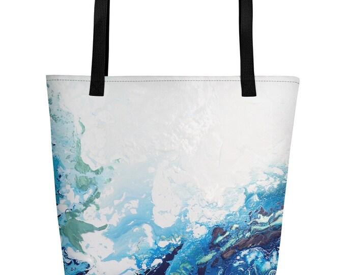 Deep Blue Beach Bag
