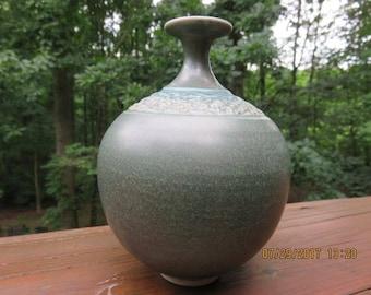 SALE - Vintage Signed Art Pottery Vase