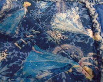 Elsa quilted rag throw