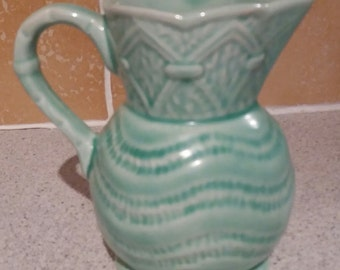 Vintage Staffordshire Roddy Ware pottery jug, pitcher