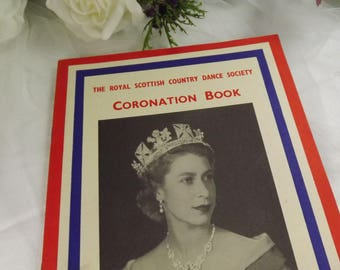 Scottish Country Dance Book , Coronation Issue , Rare , 1953