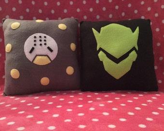 Genji & Zenyatta Overwatch Pillows