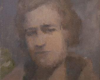 original painting, portrait painting, fine art, contemporary wall art, portrait painting by Michelle Farro