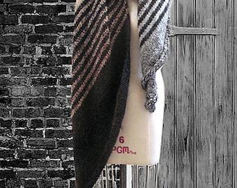 Mihály shawl or scarf knitting pattern