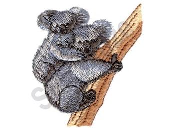 Koalas - Machine Embroidery Design