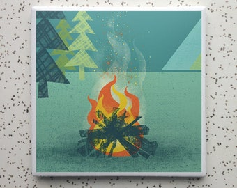 BonfireTile Coaster
