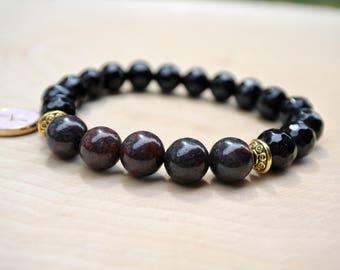 Zodiac Mala Bead Bracelet, Mala Bracelet, Yoga Bracelet, Zodiac Charm, Women Gift, Teen Girls Gift, Handmade Jewelry, Birthday Gift Ideas