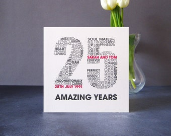 Anniversary cards etsy uk