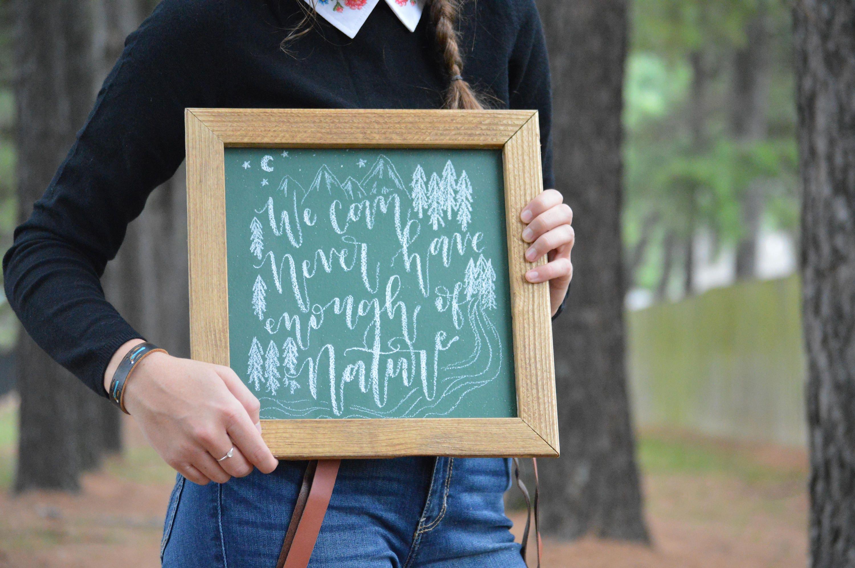 Chalkboard Chalkboard Sign Chalkboard Art Small