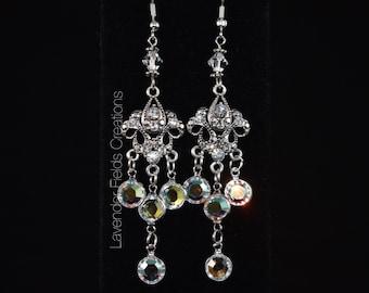Swarovski Crystal Chandelier Earrings (201826E)
