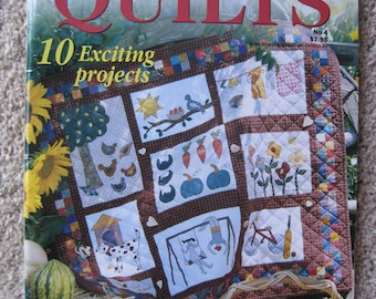 Naive & Country Quilts #4 - Patchwork and Quilting - Wonderful Showcase Quilts - NEW