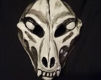 Dead Dog skull day of the dead mask