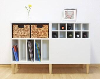 Furniture feet for Ikea Besta Shelf set of 4