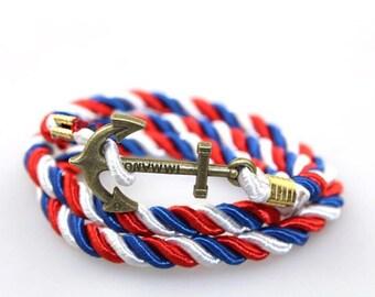 Anchor Bracelet Boyfriend Gift Men's Gift Anniversary Gift for Men Husband Gift Wedding Gift For Him Groomsmen Gift for Friend Gift Ideas