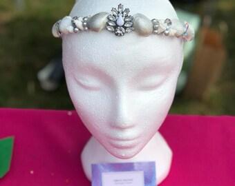 Silver Mermaid Crown