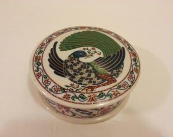 Elizabeth Arden Ceramic Dish with Lid