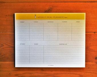 Meal Planner Printable, Planner Printable, Weekly Meal Planner, Grocery List, Instant Download