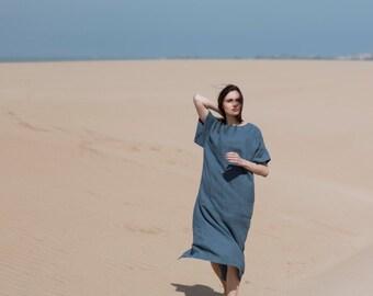 Linen Dress Motumo - 16S11