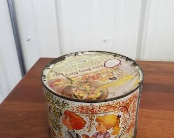 Candy tin still sealed 1963