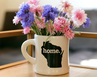 Wisconsin home. Ceramic Coffee Mug