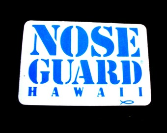 Safco Nose Guard Hawaii Surfing Sticker