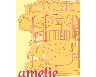 Movie poster Amelie 12x18 inches