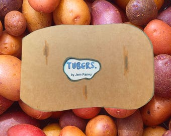 Tubers Deluxe Zine with Potato Cover