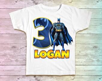Batman Birthday Shirt, Batman Birthday Tshirt, Batman Outfit, Batman Birthday Party