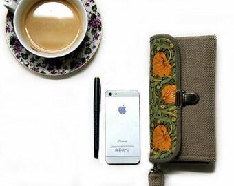 Voyage Passeport portefeuille pochette Floral aumônière Samsung Galaxy Note 8 7 jaune Roses Boho sac à main Beige cadeau femme pour femme-prêt à expédier