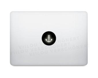 anchor sticker mac laptop decal computer motif apple notebook macbook decals picture illustration art design