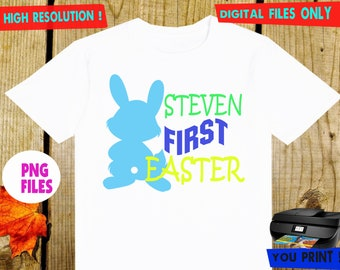 Easter, Iron On Transfer, Easter DIY Iron On Transfer, Easter Shirt DIY. Digital Files, Personalize, PNG Files.
