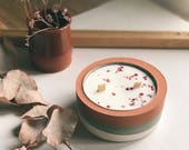 Organic soy wax candles i...