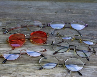 Lot of Mixed Eyeglass Wire Frames