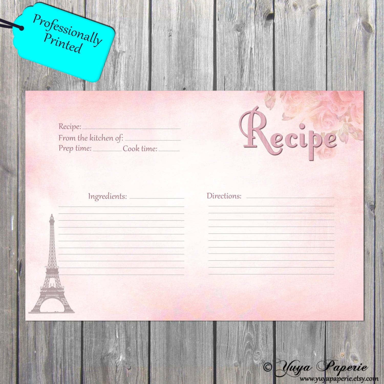 recipie cards