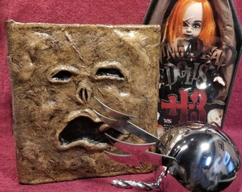 Evil Dead Necronomicon book of the dead ex mortis army of darkness Real Book - NOT a prop.