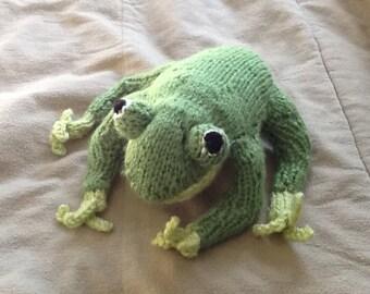 Frog stuffed animal