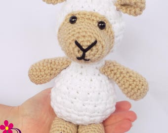 Sheep Stuffed Animal Lamb Stuffed Animal White Sheep Stuffed Animal White Lamb Plush Toy Birthday Gift for Girl Christmas Gift for Girl Gift