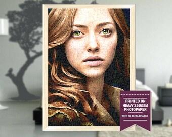 Les Misérables movie, fanart, les misérables poster, les misérables print, les misérables, amanda seyfried, Cosette, cool art