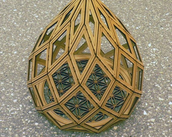 Zome 11 (base by 11 side) and the flower of life